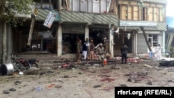 Islamic State claimed responsibility for this suicide bombing in Jalabad in April that killed at least 35 people.