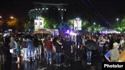 Բողոքի երթը Երևանում, 29-ը հուլիսի, 2016թ․