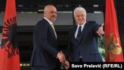 Rama je čestitao Markoviću i crnogorskim građanima ratifikaciju protokola o pristupanju NATO