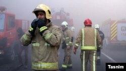 آتشنشانان در خط مقدم