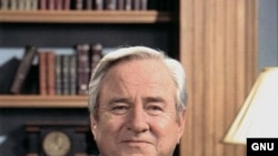 Основатель массового движения «Нравственное большинство» Джерри Фолуэлл (1933—2007)