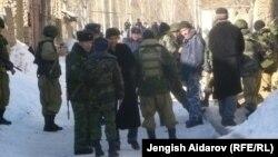 Чек арадагы Чарбак айылы, Баткен облусу, 7-январь, 2013.