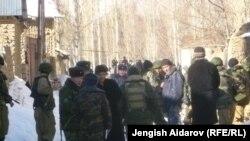 Через день после беспорядков в узбекистанском анклаве Сох. Кыргызстан, 7 января 2013 года.