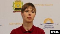Президент Естонії Керсті Кальюлайд