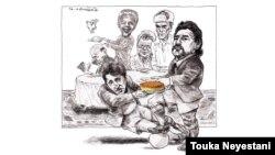محمد تقوی و میهمانهایش/ کاری از توکا نیستانی