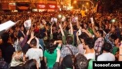 شادیهای خیابانی پس از اعلام خبر پیروزی حسن روحانی