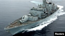 The HMS Montrose (file photo)