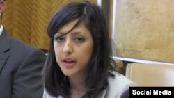 Simin Fahandezh, a Geneva-based spokeswoman for the international Baha'i community. (file photo)