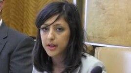 Simin Fahandezh, a Geneva-based spokeswoman for the international Baha'i community. (file photo)