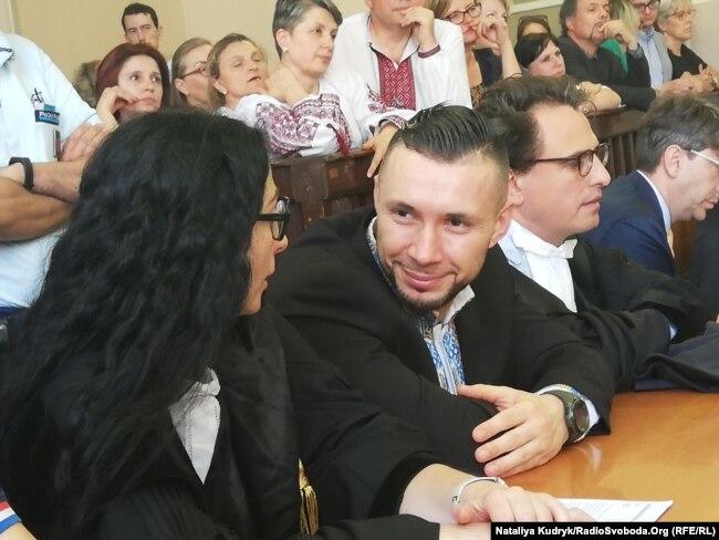 Віталій Марків та його адвокати, 21 червня 2019