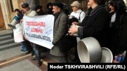 «Пустые кастрюли» - под таким названием прошла акция протеста Союза безработных