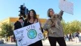 Mostar: Protest za globalnu političku borbu protiv klimatskih promjena (arhiva: 20. septembar 2019)