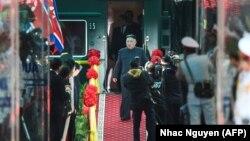 Հյուսիսային Կորեայի առաջնորդը ժամանում է Վիետնամ, 26-ը փետրվարի, 2019թ․