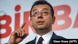 CHP namizədi Ekrem İmamoğlu
