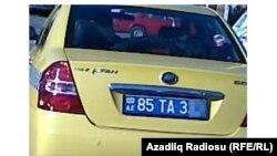 Такси марки «Lifan» в Нахчыване