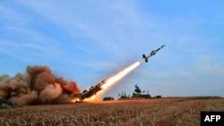 Солтүстік Корея зымыраны. (Көрнекі сурет).