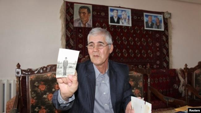 Бывший главный редактор оппозиционной газеты «Эрк» («Воля») Мухаммад Бекжан.