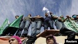 Западный берег Иордана: палестинцы ждут соотечественников, освобождаемых в обмен на израильского капрала Гилада Шалита