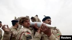 İraqın Mosul şəhəri ətrafında döyüşlər gedir