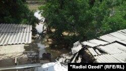 Разрушительное наводнение в Хатлоне