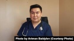 Иммунолог Арман Байдылов.