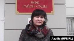 Әлфия Үзәнбаева мәхкәмәдә. 3 ноябрь, 2017