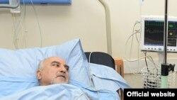 Паруйр Айрикян в больнице, 1 февраля 2013 г.