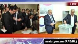 Փակ գաղտնի քվեարկությունը Ազգային ժողովում, Երևան, 19-ը հունիսի, 2018թ․