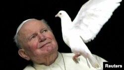Причисленный к лику святых Иоанн Павел II