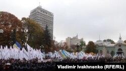Kiyev. Opposition near Rada - 10/17/2017 - 2