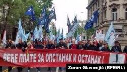 Protest u Beogradu, 1. maj 2019.
