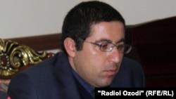 Адвокат из Таджикистана Бузургмехр Ёров. Архивное фото.