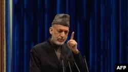 Афғонистон Президенти Ҳамид Карзай.