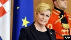 Претседателката на Хрватска Колинда Грабар-Китаровиќ