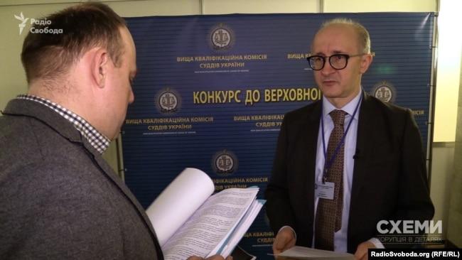 Голова ВККСУ Сергій Козьяков