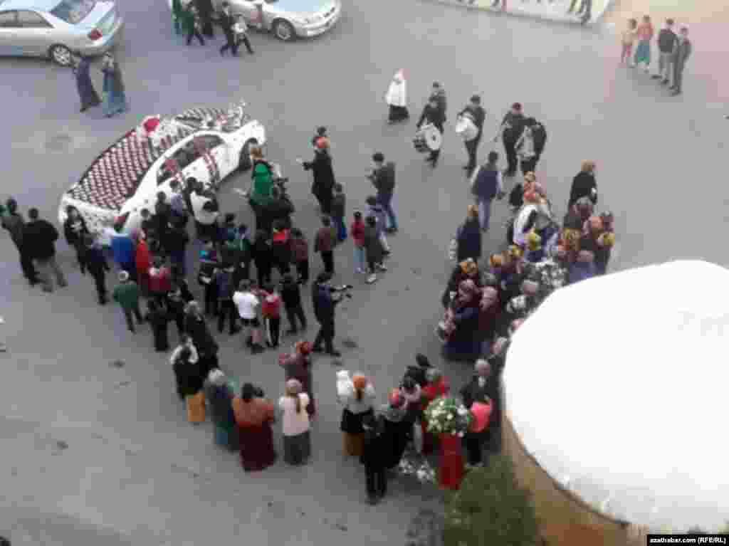 Свадьба в Ашхабаде