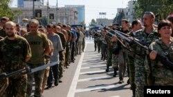 اسرای جنگی در دونتسک