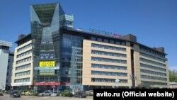 Здание отеля международной сети Courtyard Marriott в Иркутске