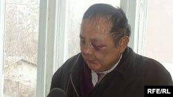 Токмоктолгон укук коргоочу Төлөн Дыйканбаев.