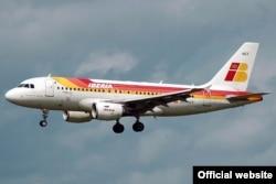 Самолет Iberia A 320-200