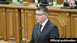 Булат Мухамеджанов выступает в Госсовете РТ