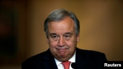UN Secretary-General designate Antonio Guterres (file photo)