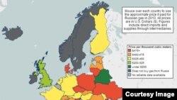 گاز پروم؛ اهرم فشار روسیه بر اروپا