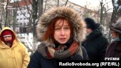 Мешканка Голосіївського району Наталія Клименко проти парковок у парку