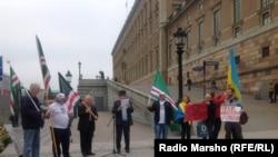 Европа -- Нохчийн Машаран Марш Стокголмехь, 4ГIа2014