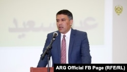 د افغانستان د کورنیو چارو وزیر مسعود اندرابي