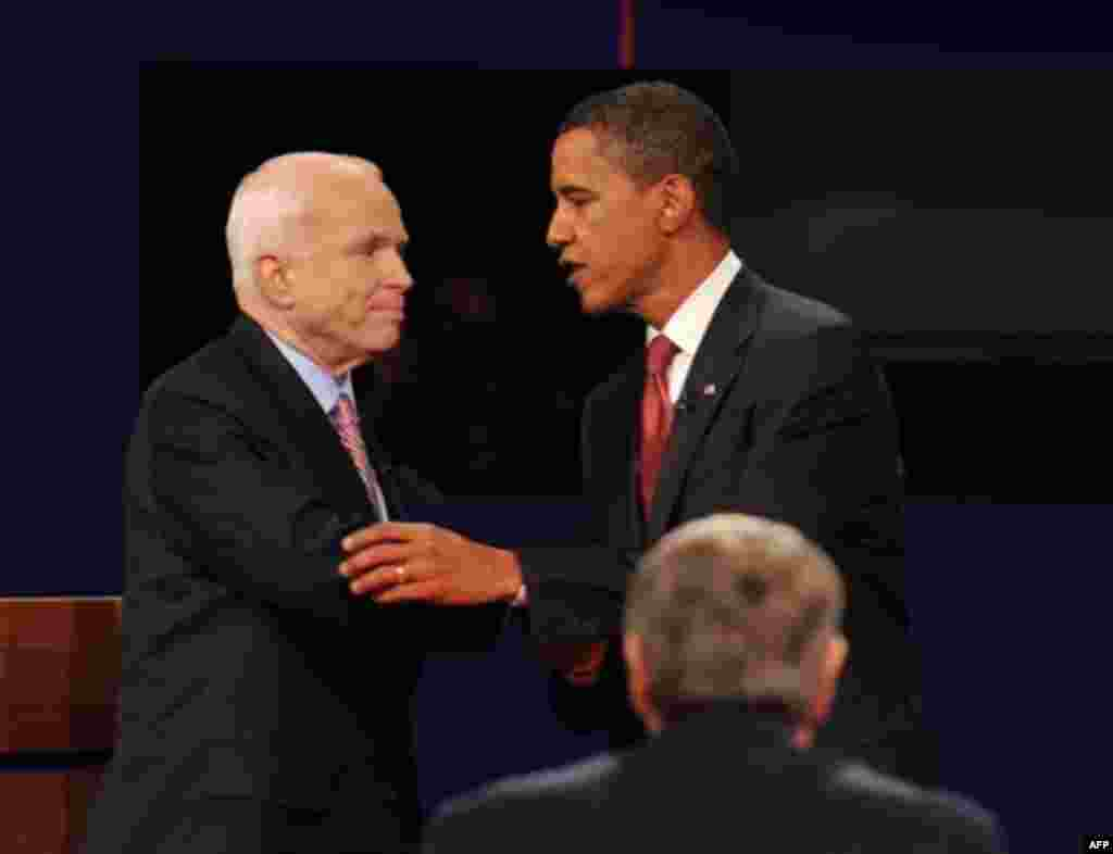 The debate ended after 90 minutes, with most analysts saying that both candidates were overly cautious. Obama and McCain will meet to debate two more times before the November 4 election. Their vice-presidential candidates, Democrat Joe Biden and Republican Sarah Palin, will also debate on October 2.