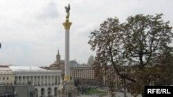 Майдан в центре Киева