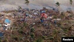 Остров Самар. Один из уничтоженных поселков