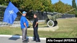 Кишинев. Ветераны войны в Приднестровье